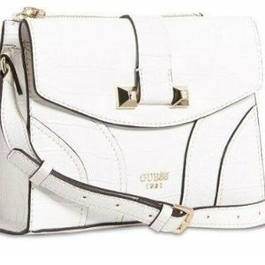 Guess ISLINGTON Croc Crossbody Flap